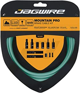 Jagwire Pro Brake Cable Kit Mountain for SRAM/Shimano, Bianchi Celeste