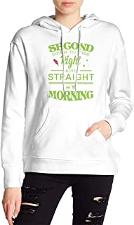 VJJ AIDEAR Peter Pan Women's Sweater Printed Hoodied Long Sleeve Coat