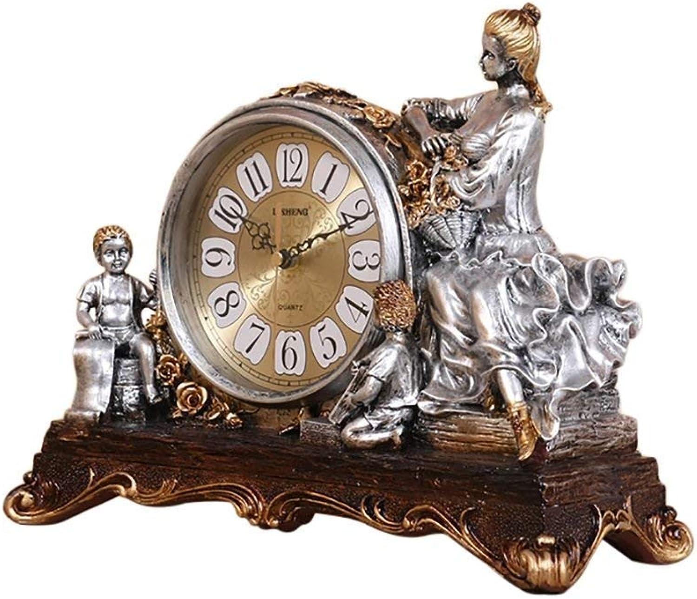 GCCI Tischuhr Europäischen Retro Uhr Uhr Uhr Wohnaccessoires Mute Pendeluhr Stilvolle Tischuhr Kreative Uhr B07BJ68P8W | Deutschland  c7198c