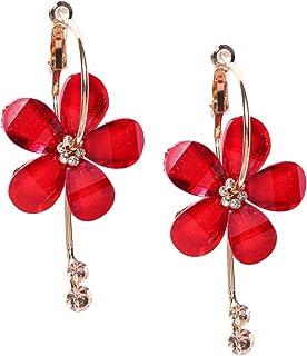 PRITA Designer Classy Floral Elegant Drop Earrings