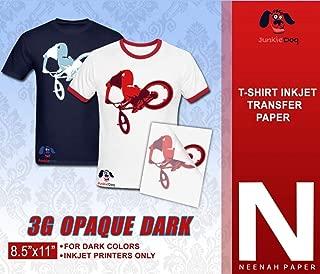 NEENAH 3G JET-OPAQUE HEAT TRANSFER PAPER 8.5