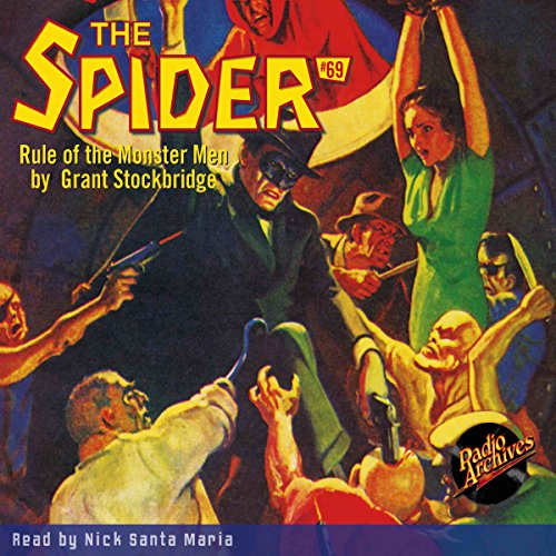 The Spider #69 copertina