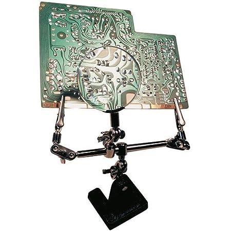 Aider /à souder /à la main Outils de troisi/ème main /Étau Table de serrage Station-5 bras avec clips r/églables pour le soudage R/éparation Assembl/ée Peinture Bijoux Art Bricolage Artisanat