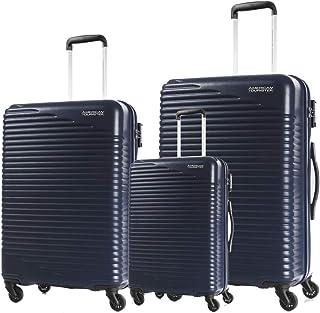أمريكان توريستر حقائب سفر سكي بارك سبينر ، مجموعة من 3 ، مقاس 55 68 78 ، كحلي