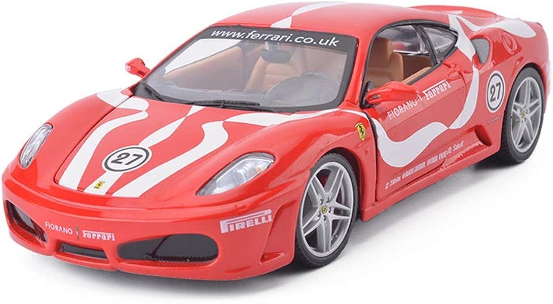 ZHPBHD Car Model Car 1 24 Ferrari F430 Toy Ornaments Sports Car Collection Jewelry 19x8x5CM model