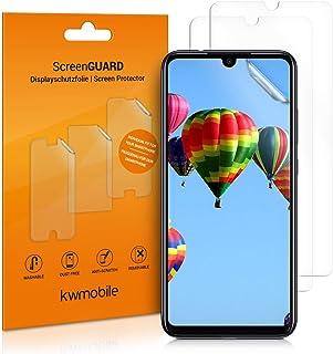 kwmobile 3x pellicola salvaschermo compatibile con Xiaomi Redmi Note 7 / Note 7 Pro - Film protettivo proteggi telefono - ...