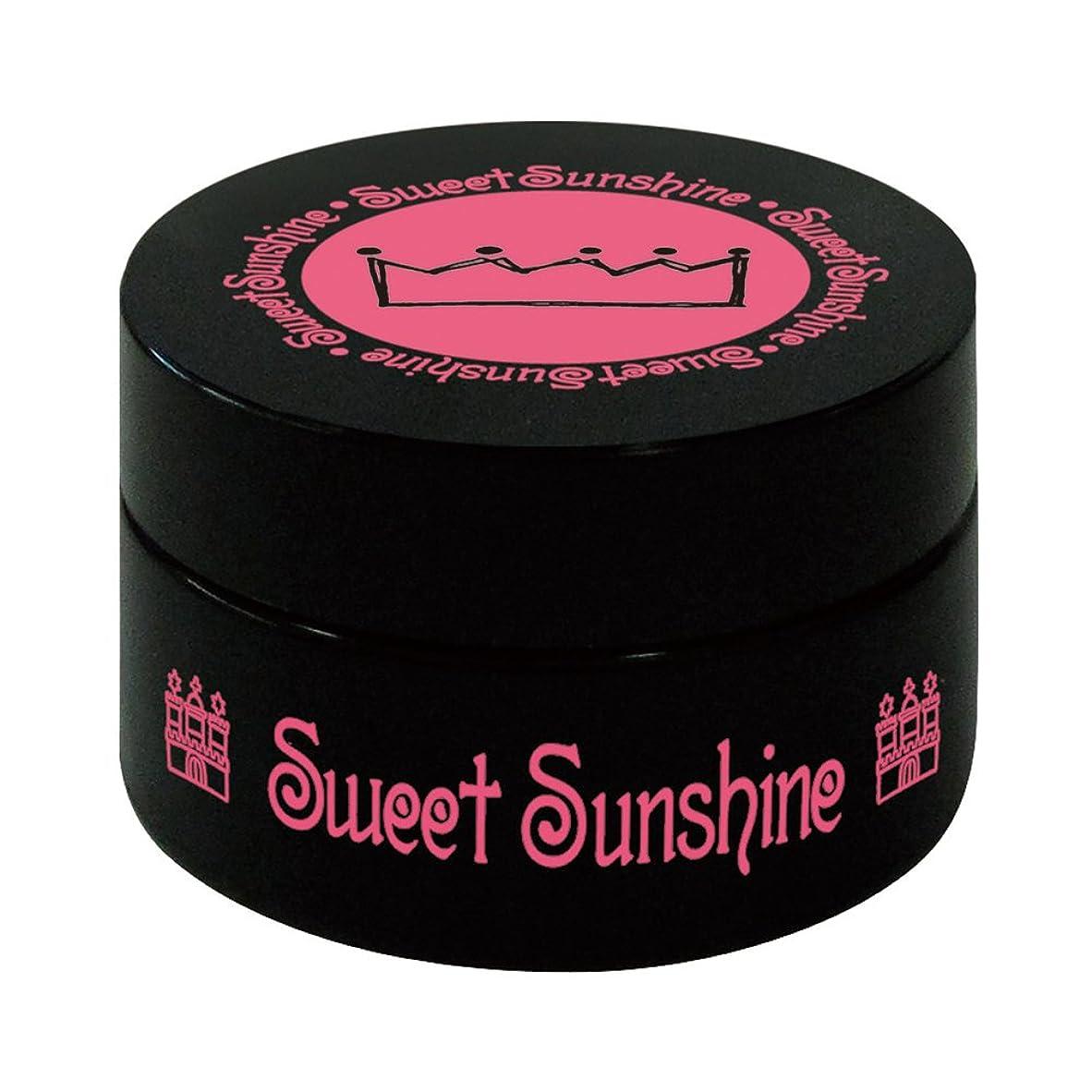 驚くべき遷移一般Sweet Sunshine カラージェル 4g MON- 9 チェリーポップ パール UV/LED対応