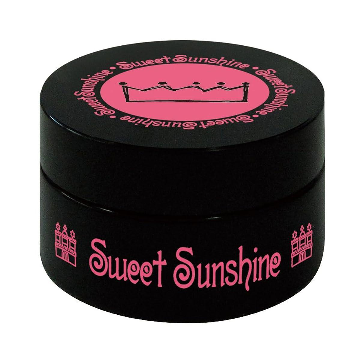 ジャンルセミナー資金Sweet Sunshine カラージェル 4g MON-23 スノークリスタル パール UV/LED対応