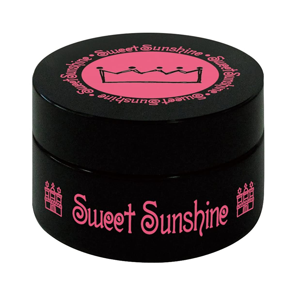 ハーフ化学薬品入口Sweet Sunshine カラージェル 4g MON-23 スノークリスタル パール UV/LED対応