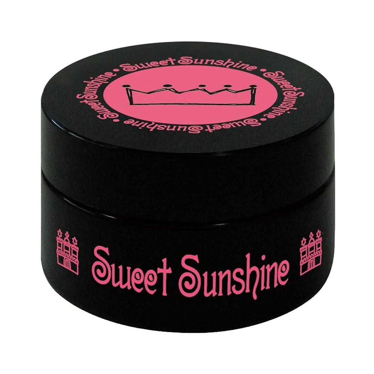 市民権ミニ完全に乾く最速硬化LED対応 Sweet Sunshine スィート サンシャイン カラージェル SC-128 4g ライトチャコールグレー