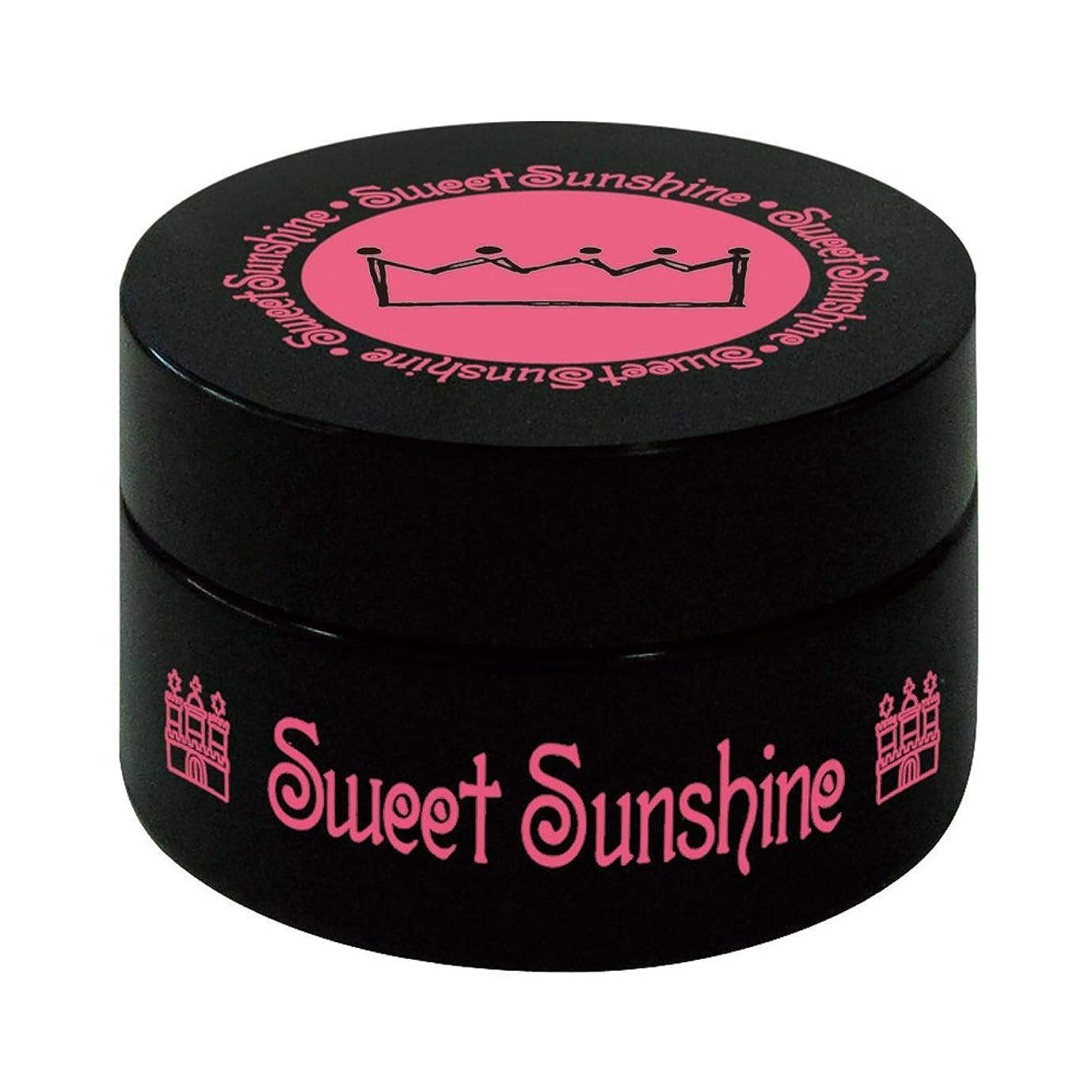 インレイスチュアート島分子最速硬化LED対応 Sweet Sunshine スィート サンシャイン カラージェル SC-34 4g ローズピンク