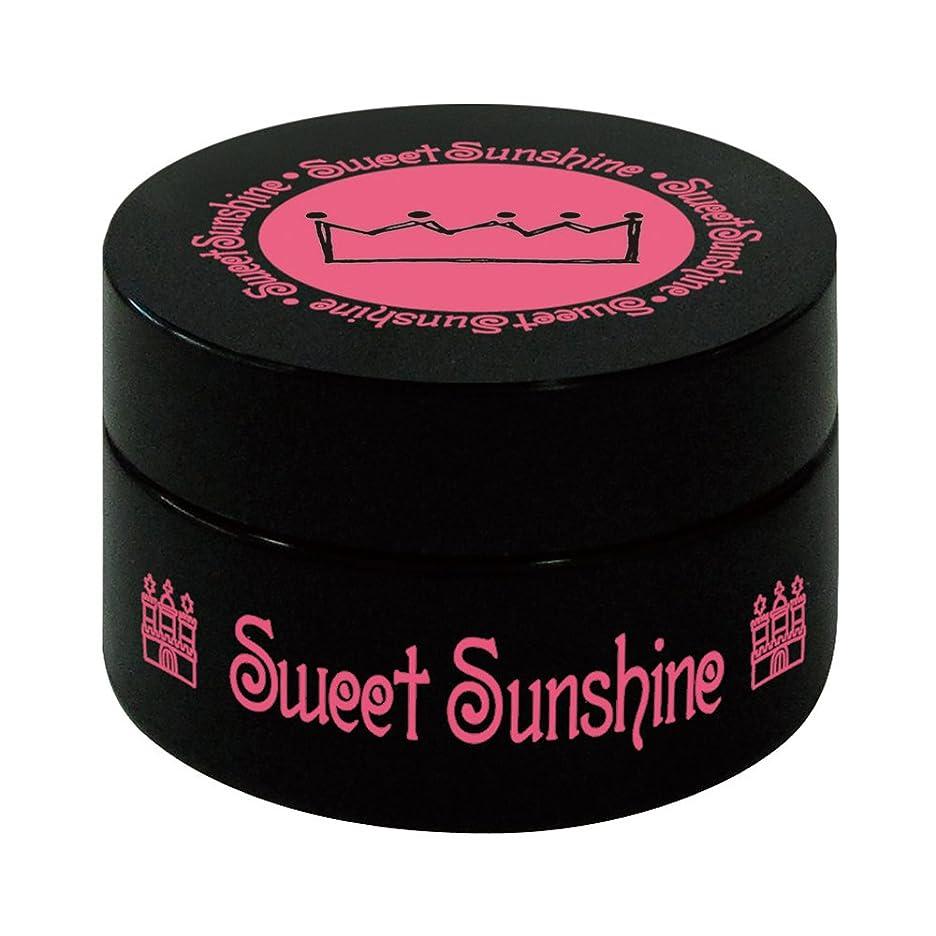 聖人幾何学逃げる最速硬化LED対応 Sweet Sunshine スィート サンシャイン カラージェル SC-4 4g サンシャインビーチイエロー