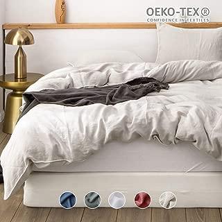 Best cream linen bedding Reviews
