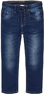 Mayoral - Pantalones de mezclilla suave para niños - 4540, oscuro