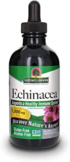 Nature's Answer Echinacea | 4 oz. Supports a Healthy Immune System | Non-GMO | Alcohol-Free, Gluten-Free, Vegan, Kosher Ce...