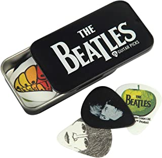 Planet Waves Beatles Signature Guitar Pick Tins, Logo, 15 picks