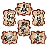 Vintage Circus Poster Cutouts (6 pieces) Circus Party Decor