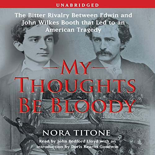 My Thoughts Be Bloody audiobook cover art
