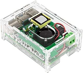 UCTRONICS PoE HAT for Raspberry Pi 4 with Case, 802.3at Power Over Ethernet Expansion Board for Pi 4 B Board, with Cooling...