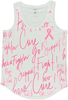 Under Armour Women Power In Pink Allover Print Tank Top white S