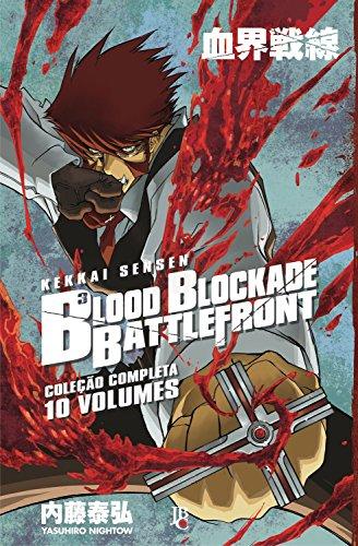 Blood Blockade Battlefront - Caixa com Volumes 1 a 10