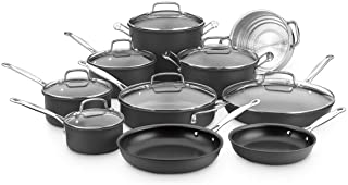 Cuisinart Chef's Classic Nonstick Hard-Anodized 17-Piece Cookware Set DISCONTINUED BY MANUFACTURER