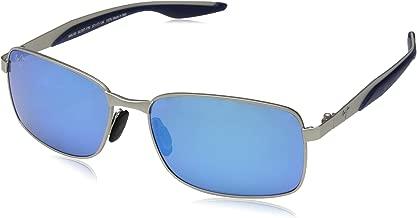 Maui Jim Sunglasses | Shoal H797 | Rectangular Frame, Polarized Lenses, with Patented PolarizedPlus2 Lens Technology