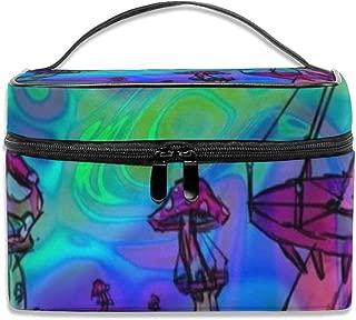 旅行化粧品袋ハチに優しい庭を作る大容量化粧品袋収納袋ウォッシュバッグ防水屋外旅行ポータブル