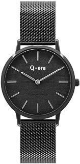 Q-era Black Mesh Women's Watch - QV2801-112