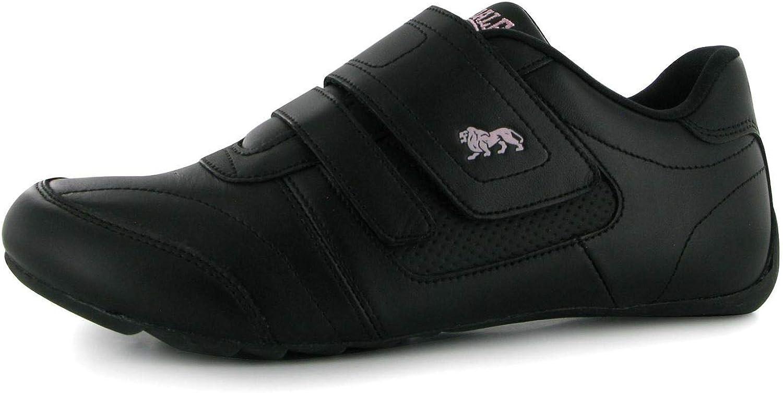Officiella Lonsdale Chelsea Tågare Tågare Tågare kvinnor svart  lila Athle Sljus skor skor Footwear  modern