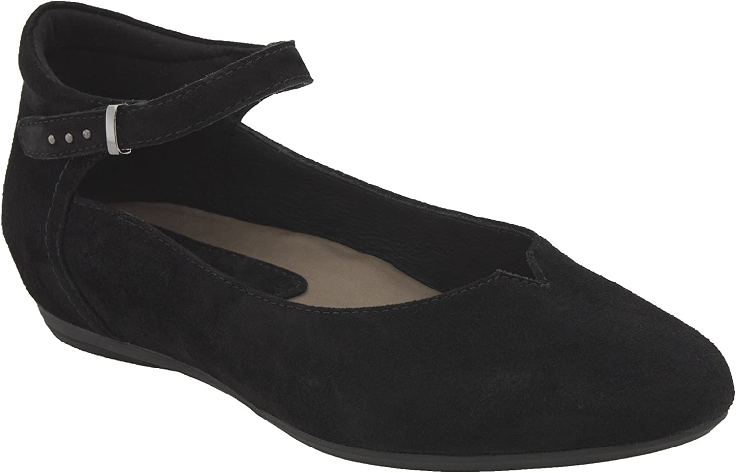 Earthies Women's Black Emery 5 Medium US