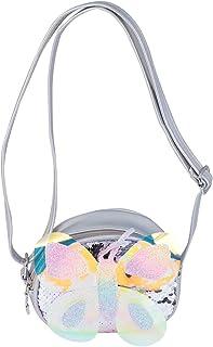 VALICLUD Girls Butterfly Shoulder Bag Change Coin Mini Cute Crossbody Purse Handbag Shoulder Bag for School Travel