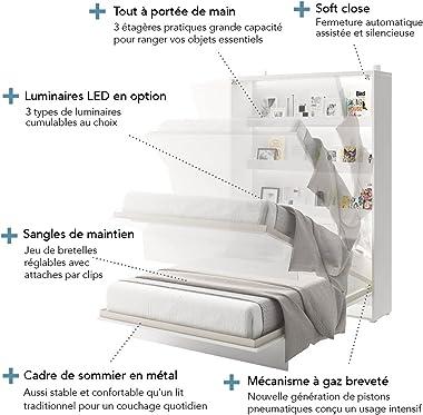 ESF Pliant, Panneaux Stratifiés HPL Haute résistance et durabilité (Anti-Rayure) / Chants en PVC décor Assorti – Epaisseur 22