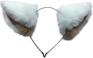 Retsuko Cosplay Cat Ear Headband Multicolor