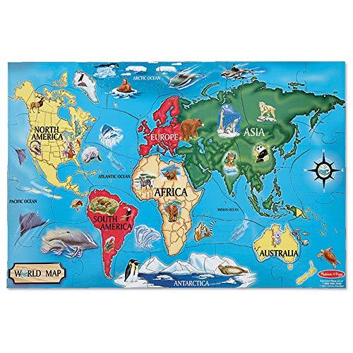mapa grande europa fabricante Melissa & Doug