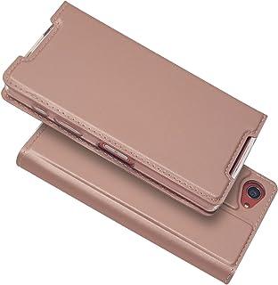 【Pelanty】Sony Xperia Z5 Compact SO-02H docomo ケース Xperia Z5 Compact ケース手帳型フリップカバー極薄高級合皮財布マグネットスマートフォンケース付きカードポケットスタンド機能耐衝撃...