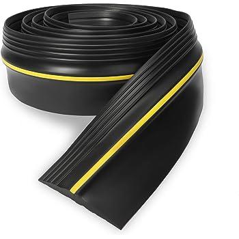 Eapele 20ft Garage Door Threshold Seal Weatherproof Easy Cut Replacement Strip