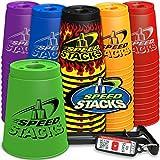 Speed Stacks Set - Black Flame