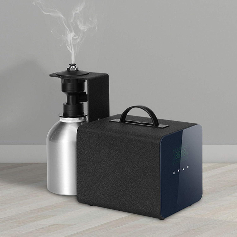 1L Difusor Aceites Esenciales,Difusor Aromaterapia,sistema De Difusión Por Nebulización Refresh En Habitaciones De 5000m³, Sistema Sin Calor Para Uso Comercial O Hotelero - Negro