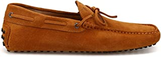 TOD'S Men's XXM0GW05470RE0C800 Orange Suede Loafers