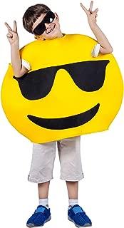 Children Unisex Emoticon Costumes One Size