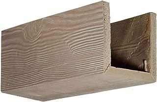 Ekena Millwork BMSDWH Sandblasted Endurathane Faux Wood Ceiling Beam Sample, 6