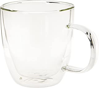 Cristal Collection Double Wall Cup, Elegant Classic Design, Perfect Glasses for Water, Juice, Beer, Wine, and Cocktails an...
