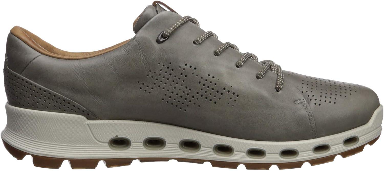 ECCO Mens Cool 2.0 Leather Gore-tex Sneaker