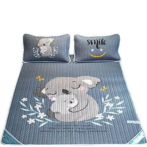 Bedding Set Koeling Topper matras Matrassen Cooling Bedding Bamboo Slaapmatten Summer Bedroom 3 Maten Opvouwbaar Quilt Set (Color : Koala, Size : 1.8m)