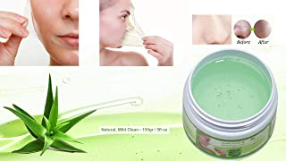 Blackhead Remover Maske, Mitesser Maske, Anti Aging Mask, Aloe Vera Gesichtsmaske, Peel Off Mask 150 gr | Natural & Mild | Premium Qualität | Aloe Plus von Secret Essentials