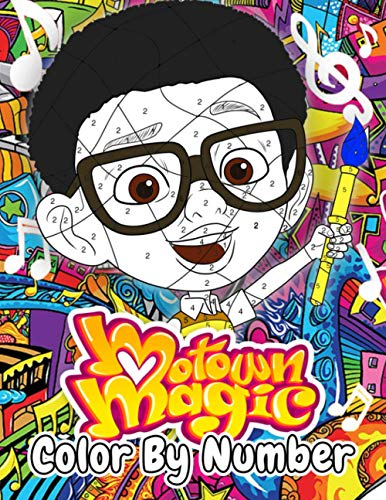 Motown Magic Color By Number: Have You Tried This New Version Coloring Game?