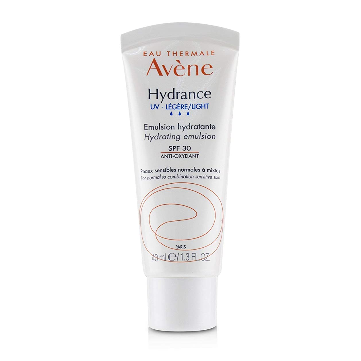 アロング脇に反発するアベンヌ Hydrance UV LIGHT Hydrating Emulsion SPF 30 - For Normal to Combination Sensitive Skin 40ml/1.3oz並行輸入品