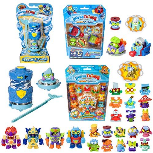 SuperThings Power Machines – Blíster 10 Pack y 16 Sets Sorpresa |...