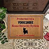 TIANTURNM Felpudo Interior para Puerta Yorkshire Protegido por un...